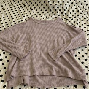 AE lilac sweater